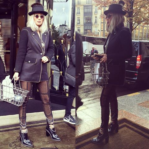 Maya Diab en Chanel à Paris !