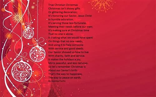 Amazing Christmas Poems For Church 2013