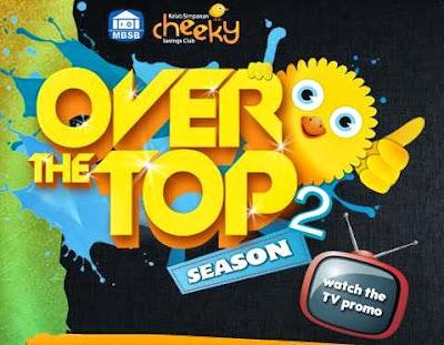 MBSB Over The Top Season 2, children reality tv series, Disneyland and Ocean Park, Hong Kong