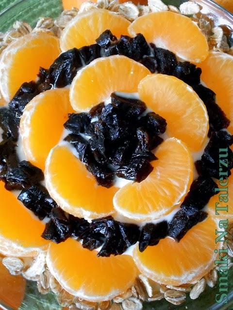 Słoneczny deser mandarynkowy