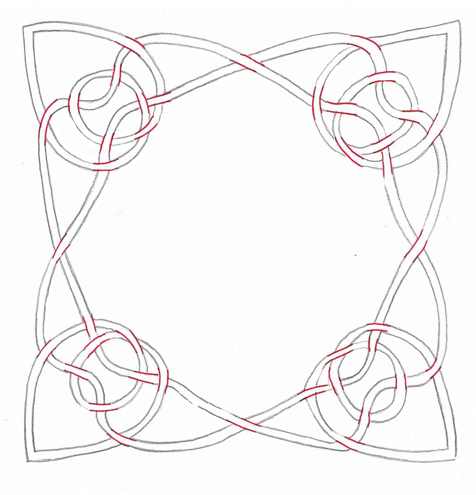 Creative doodling with judy west how to design celtic knot patterns