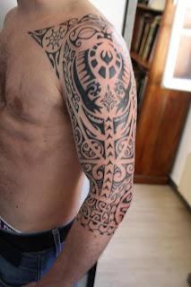 Tumblr tattoo tribal tattoos for men shoulder and arm - Tatouage tribal epaule ...