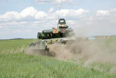 Tank Rusia T-80 - The Invincible Tank