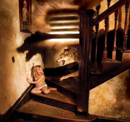 scary photo
