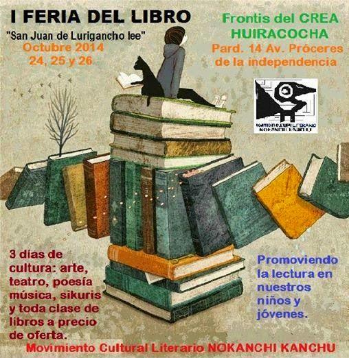 SJL: I FERIA DEL LIBRO, 24, 25 y 26 de octubre