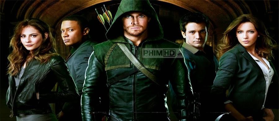 Mũi Tên Xanh Phần 2 - Arrow Season 2 - 2013