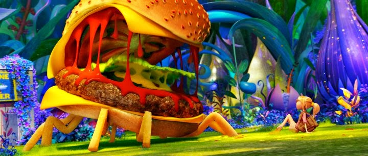 3D Animated Comedy Cloudy With A Chance Of Meatballs 2 Young Inventor Flint Lockwood And His Pals Discover That The Food Machine Is Still Active