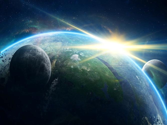 Luz de fótons chegando a Terra, 2036, nova era