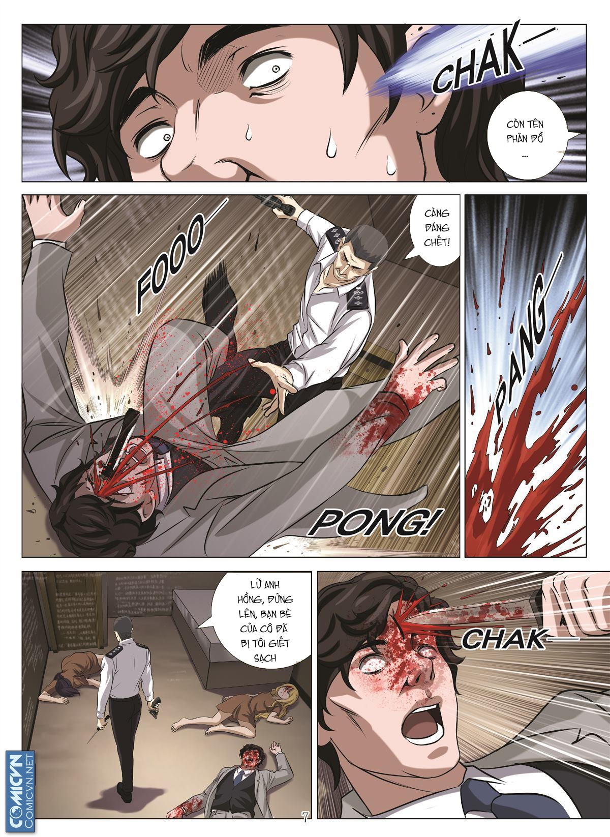 Bloody Girl chap 17.u Trang 7