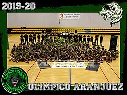 Plantillas Olímpico Aranjuez 2019/20
