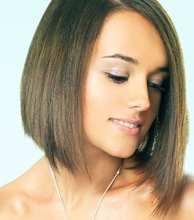 Alizee Medium Layered Hairstyles for Girls