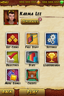 Hack Cheat for Temple run 2 , No Jailbreak required