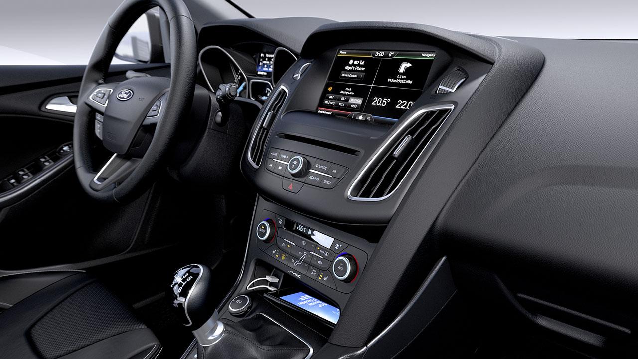 Ford Focus dash
