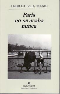 """""""París no se acaba nunca"""" - Enrique Vilas-Matas."""