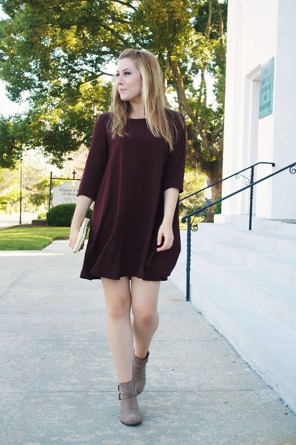 burgundy-swing-dress-womens