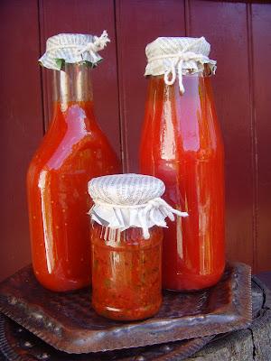 Bulion si ketchup de casa