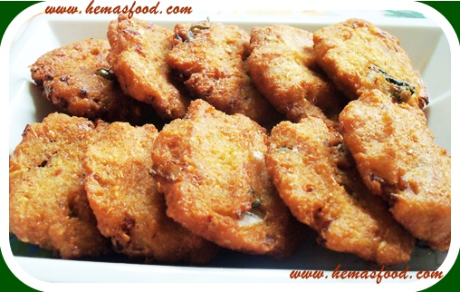 Indian food recipes hemas kitchen a very tasty crispy vada prepared with healthy white peas a perfect tea time snack for the rainy and winter season forumfinder Images