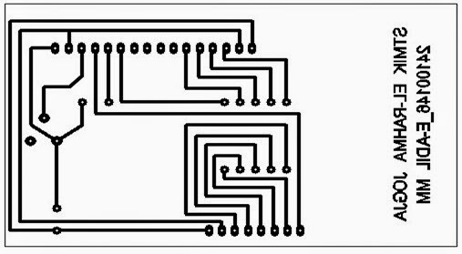 basic liquid crystal display  lcd  2x16 circuit diagram