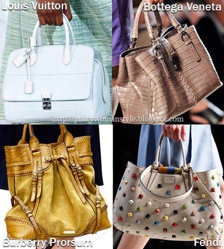 Големи чанти с къси дръжки Пролет/Лято 2012