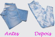 Jeans Manchado