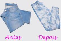 Jeans Manchado