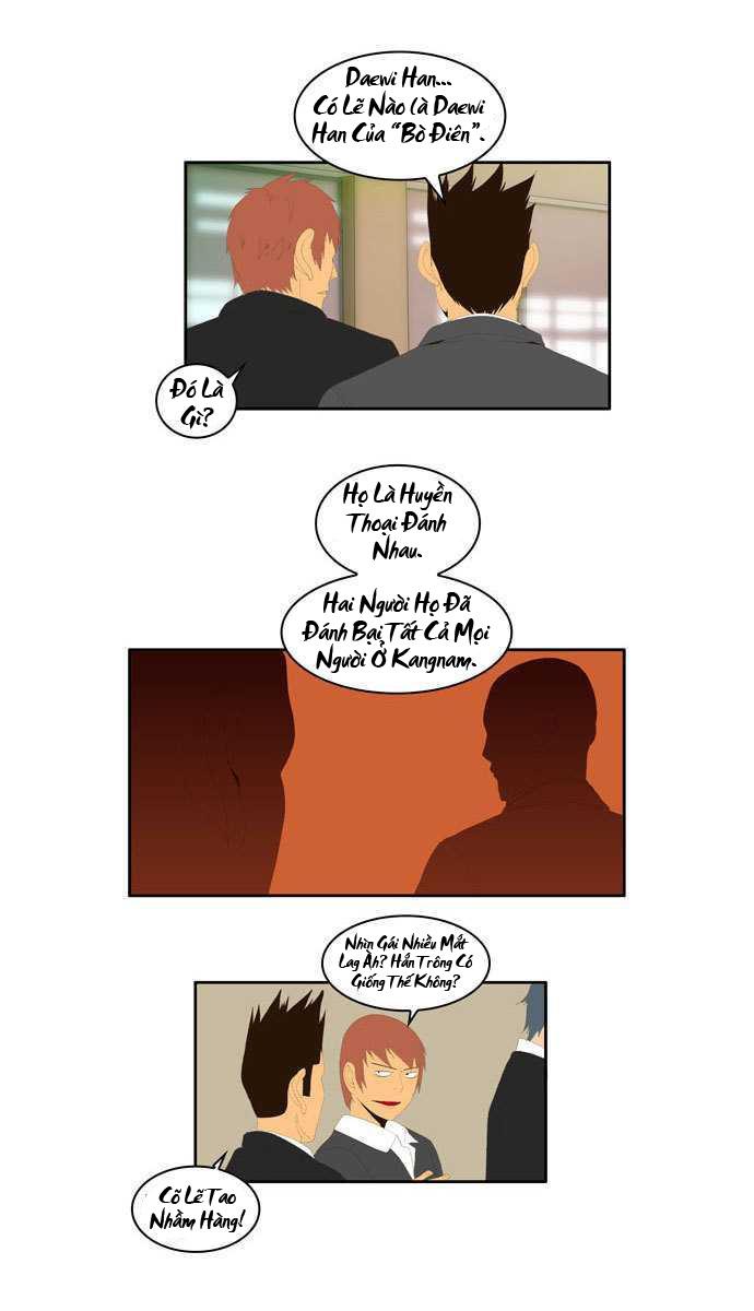 Chúa tể học đường chap 2 - Trang 22