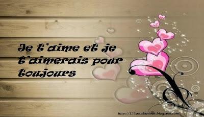 Phrase d'amour courte