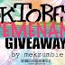 Yang Sebenar : Senarai Pemenang OKTOBER GIVEAWAY by MEKZUMBIE