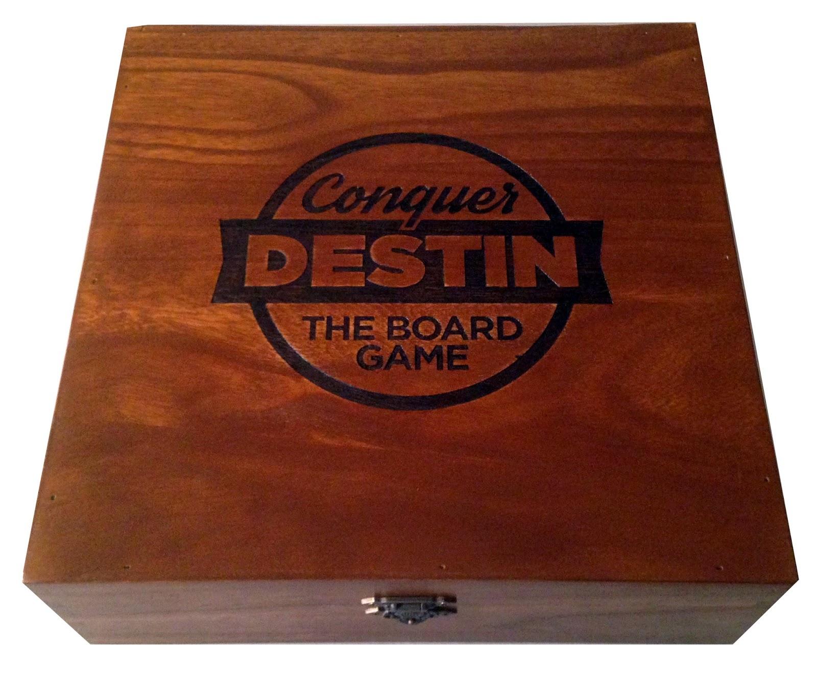 how to make a custom board game box