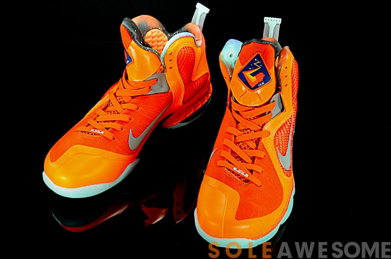 Nike LeBron 10 Galaxy Big Bang Total Orange