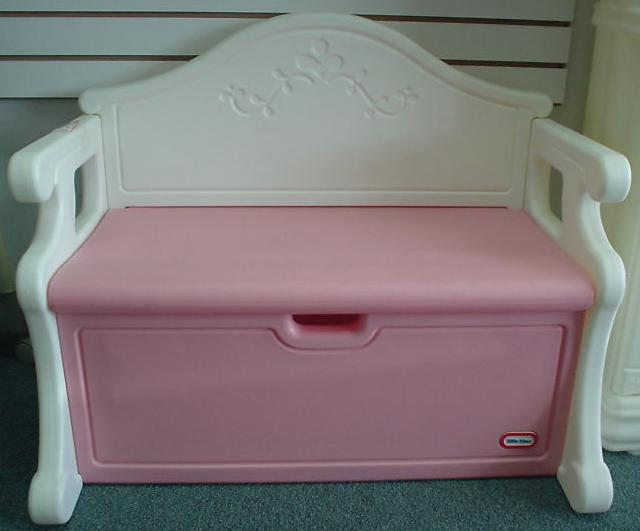 Ain 39 S Preloved Items Ain 39 S Preloved Little Tikes Victorian Pink White Bench Toy Box Sold