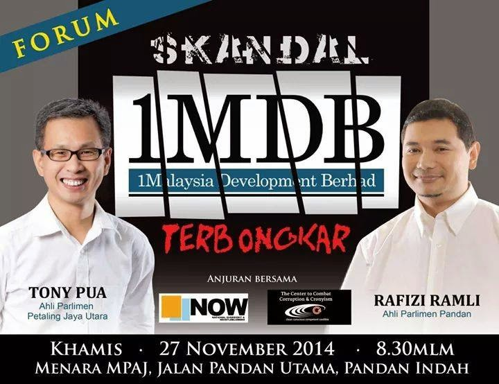 FORUM SKANDAL 1MDB