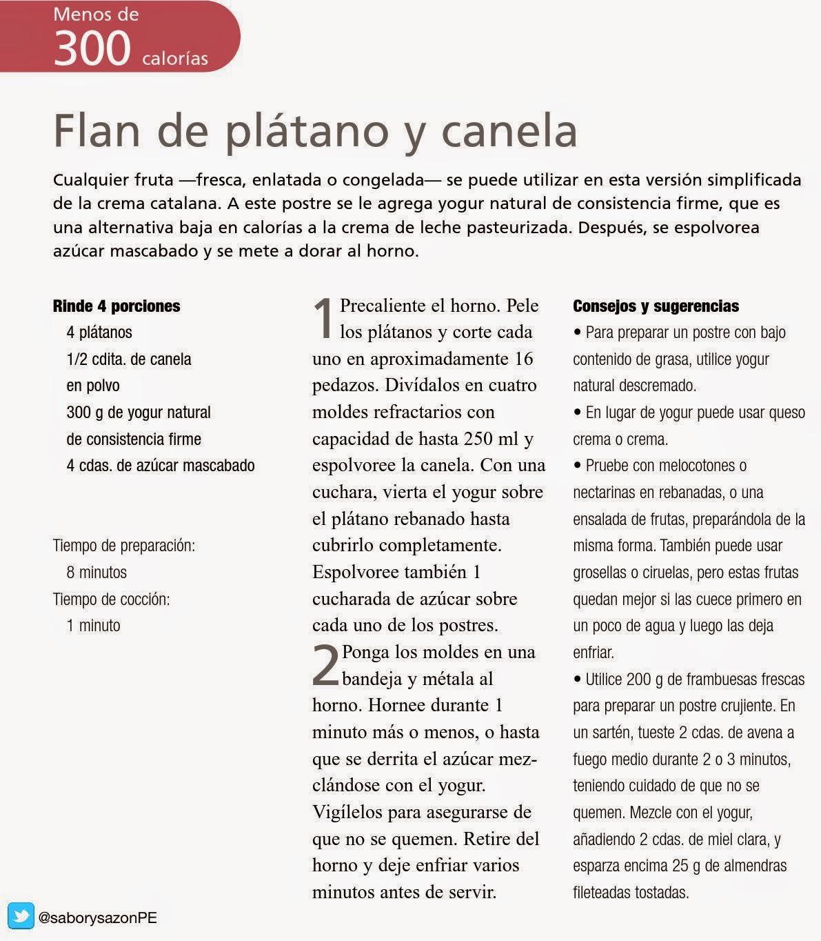 COMO PREPARAR UN FLAN DE PLÁTANO Y CANELA - Recetas