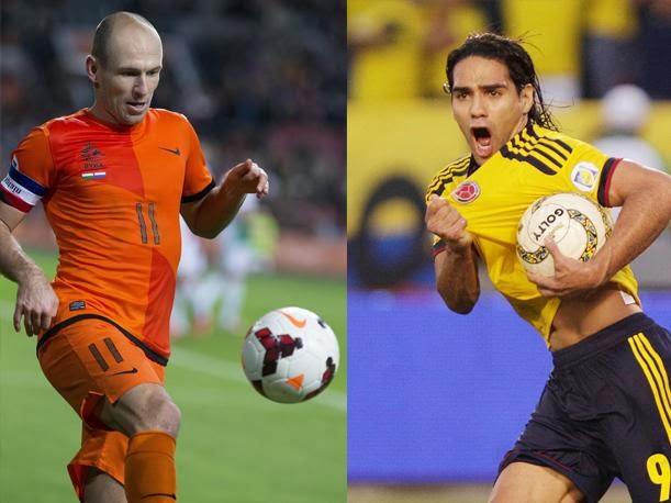 Colombia vs Holanda 2013