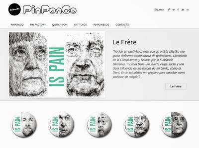 PinPonGo, Art to Go, Sirius Madrid, chapas