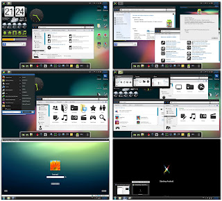 Android Jelly Bean Tranformations Pack for Windows 7(THEME)