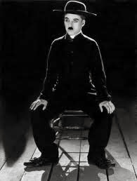 Chaplin in shed