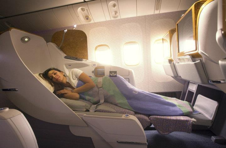 Emirates Business Class nach Asien