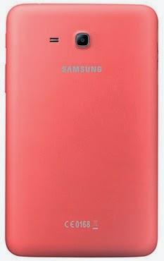 Gambar Samsung Galaxy Tab 3 Lite 7.0 3G Pink Bagian Belakang