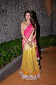 kajal agarwal photos in half saree-thumbnail-2