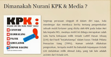Dimanakah Nurani KPK & Media ?
