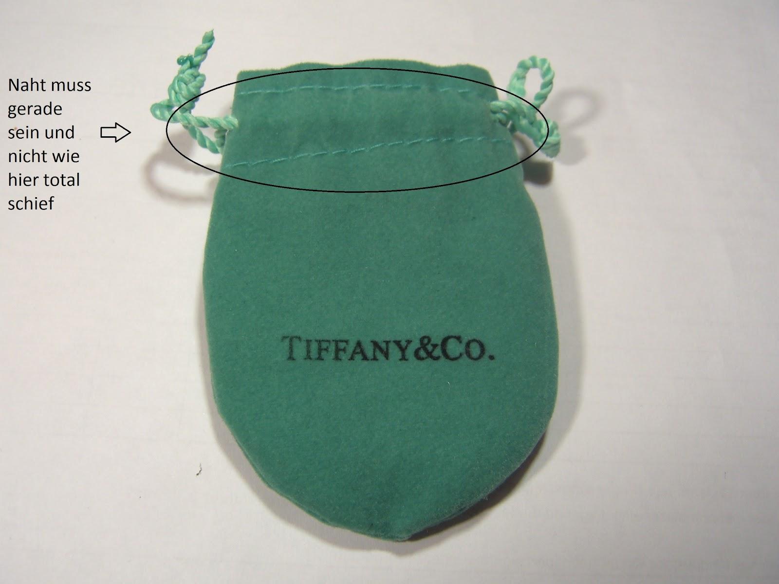Tiffany kette herz fake