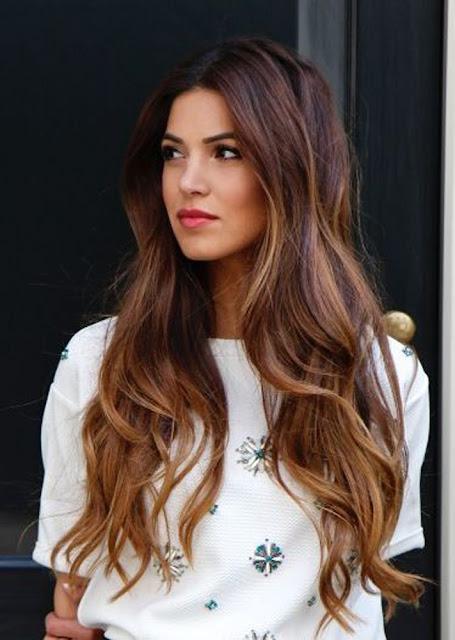 cabelo longo bronde hair