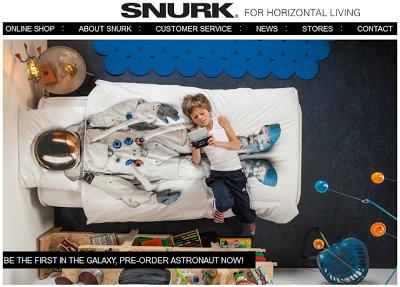 Astronaut bedsheets