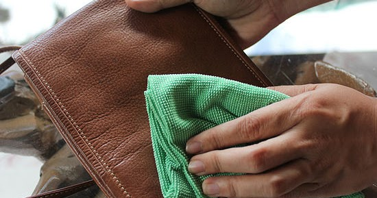 how to get ink stains out of leather purse