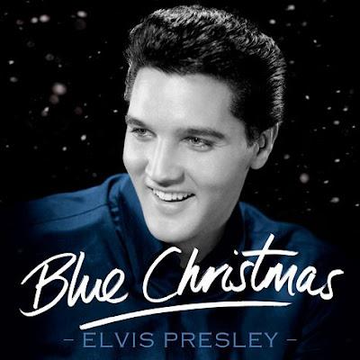 elvis presley blue christmas cover