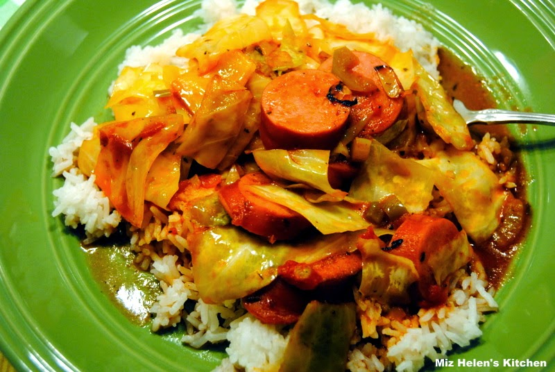 Cajun Cabbage @ Miz Helen's Country Cottage