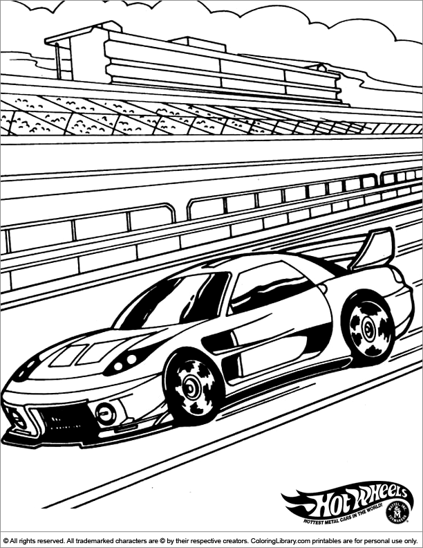 Hot Wheels Coloring Pages 66