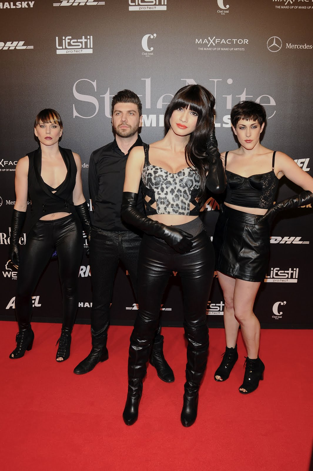 Ladies in leather gloves and boots - Nomi Ruiz In Leather Gloves Leather Boots And Leather Pants In Uhq Bonus With 2 Other Ladies In Leather Gloves And Leather As Well In Read More