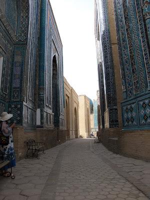 Uzbekistán, Samarkanda - Shah-i-Zinda